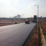 Grandeur Villa Road Construction